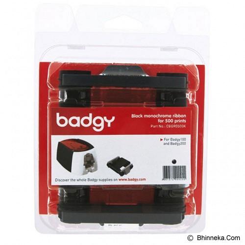 BADGY Black Ribbon for 500 Prints [CBGR0500K] - Pita & Label Printer Lainnya
